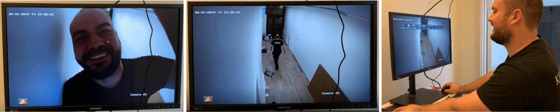 Videoovervågning hos LH træbyg