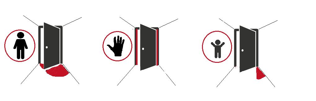 farezoner ved dørautomatik