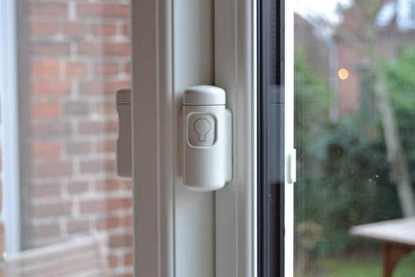 Vinduessikring med vindueslås